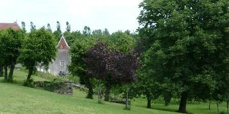 Château de la Hussardière Le parc, depuis les terrasses