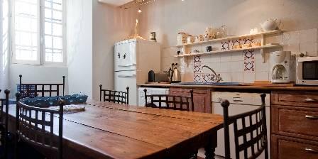 Gîte Château de Tailly Cuisine pavillon de chasse