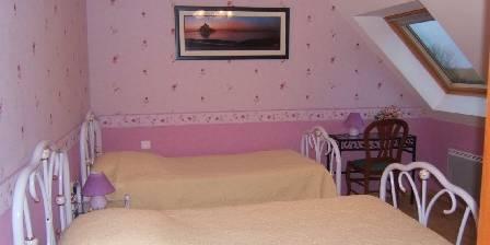La Rive - Le Mont Saint Michel La chambre Lilas