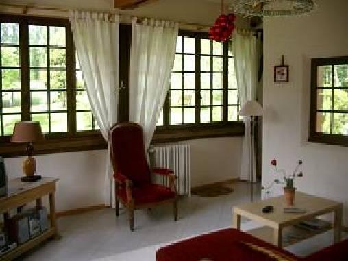 Chambre d'hote Haute-Marne - Le salon attenant à la chambre