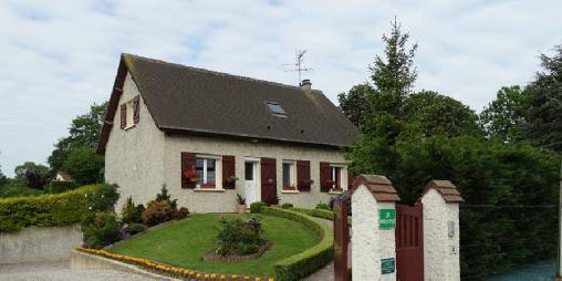 Bed & breakfasts Calvados, from 59 €/Nuit. House/Villa, Crepon (14480 Calvados), Charm, Net, WiFi, T.V., Parking, 01 Single Bed(s), 01 Double Bedroom(s), 07 Maximum People, Cle Vacances, Bowls, Country View, Town/Village V...