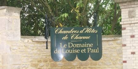 Chambre d'hotes Le Domaine de Louise et Paul >