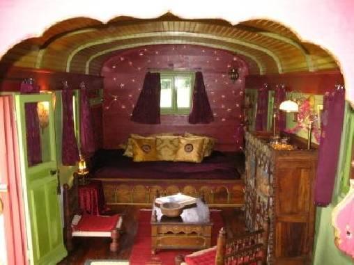 Chambre d'hote Rhône - la roulotte des étoiles