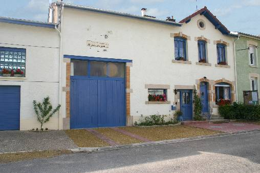 Chambre d'hote Meuse - Façade d'une fermette lorraine typique