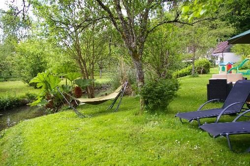 Le repos dans le jardin