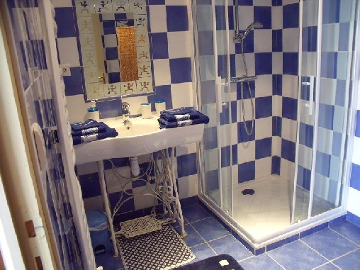 Chambre d'hote Manche - salle de bain océan