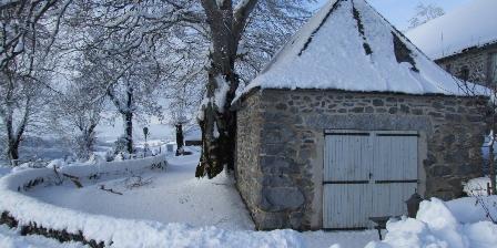 Air Aubrac Le buron en hiver