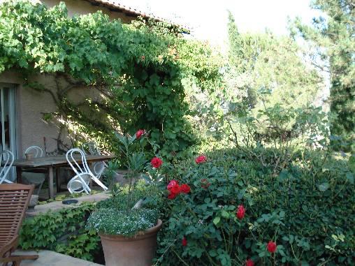 Chambre d'hote Bouches du Rhône - la terrasse