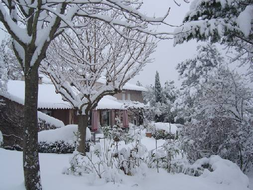 Chambre d'hote Bouches du Rhône - en hiver