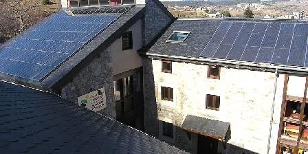 L'Orri de Planès Panneaux solaires sur le toit