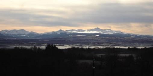 Vue imprenable sur le massif du Sancy