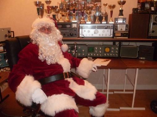 Père Noel à La Vervialle