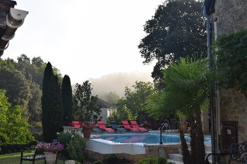 bed & breakfast Dordogne - Garden