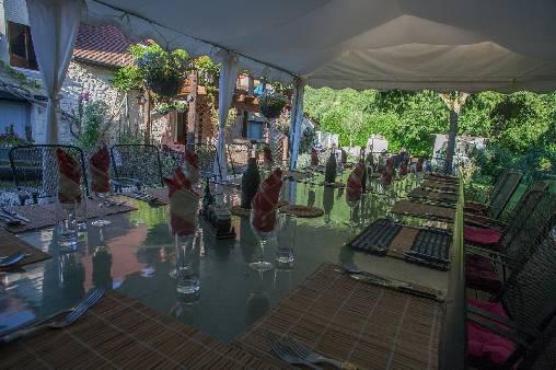 Table d'hôtes extérieur