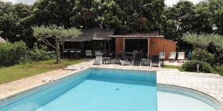 BnB Le Mas Des Oliviers Piscine avec pool-house et salon d'été