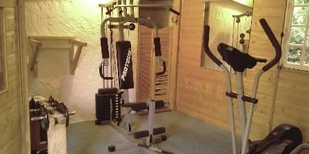 BnB Le Mas Des Oliviers Salle de musculation et sauna