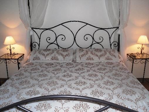 Chambre 'Pomme d'Amour' Lit à baldaquin 160X200