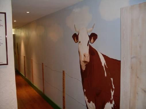 Chambre d'hote Doubs - Un couloir surprenant...