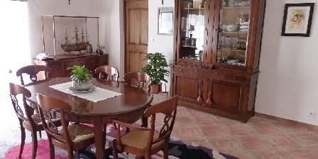 Chambre d'hotes La Bastide Des Pignes > salle à manger - hiver
