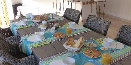 Chambre d'hotes La Bastide Des Pignes > petit déjeuner
