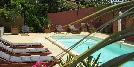 Château Coquelicot La piscine chauffée