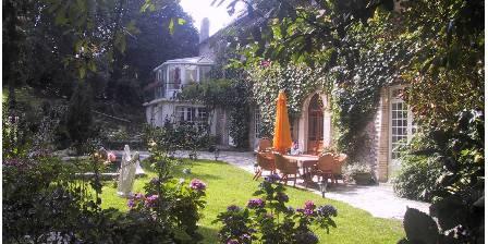 Le Relais du Mont Chauve Façade côté jardin