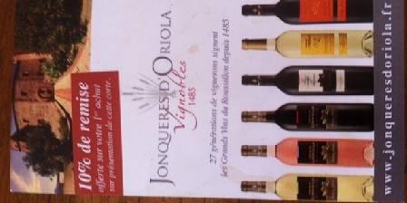 vins de philippe et william jonqueres d'oriola
