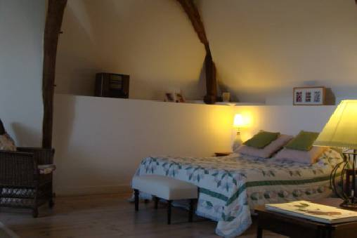 bed & breakfast Indre-et-Loire - La Roseraie Rouge Bedroom