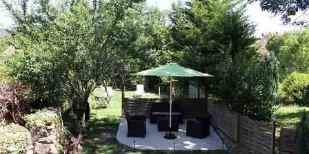 Chez Les Bougnats Le jardin