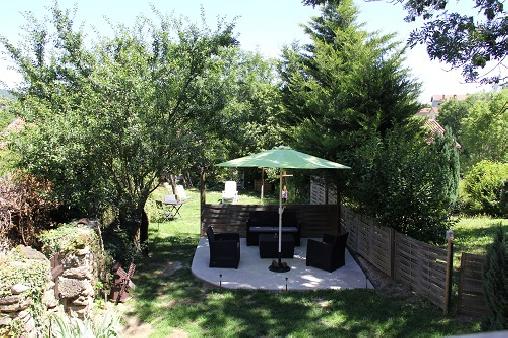 Chambre d'hote Haute-Loire - Le jardin