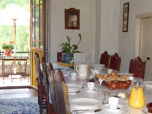 bed & breakfast Aude - Breakfast