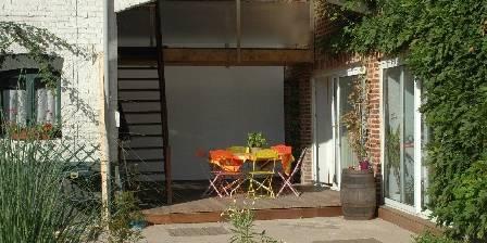 Entre Cour et Jardin à Lille Lesquin La terrasse