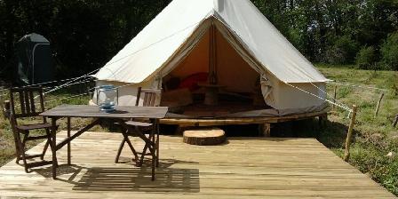 Les cabanes de kermenguy Tente saharienne pour 2 personnes