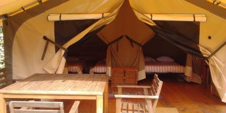 Les cabanes de kermenguy Tente Lodge Victoria pour 2 à 4 personnes