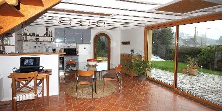 Chambres d'hôtes finistère de gouelet-ker Coming on and terrace