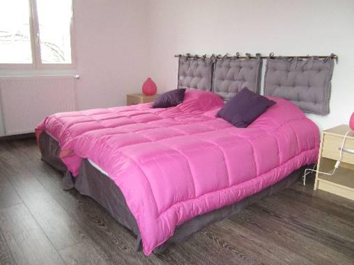 la chambre en 1 grand lite de 180x190 ou bien en 2 lits de 90x19