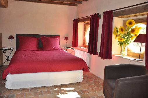 bed & breakfast Indre - The chamber Fruitier