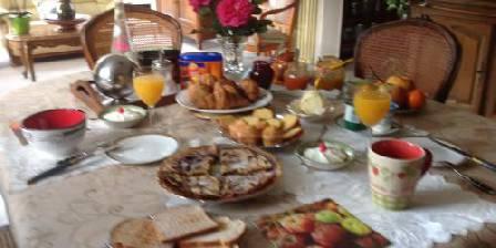 Villa du Pont Villefranche de Conflent Petit déjeuner