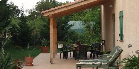 Gite Gite du Mas d'Yf > terrasse