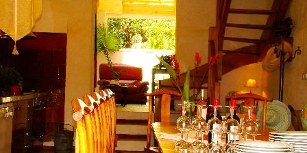 Le Mas de La Gavaresse Living room