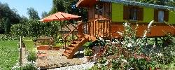 Bed and breakfast Le Jardin Sauvage La Roulotte