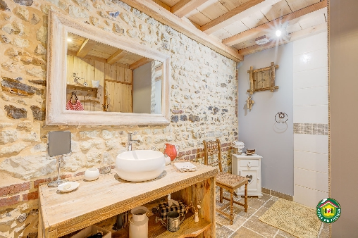 Chambre d'hote Oise - la salle de bain