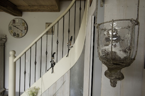 Escalier pour La suite des écuries