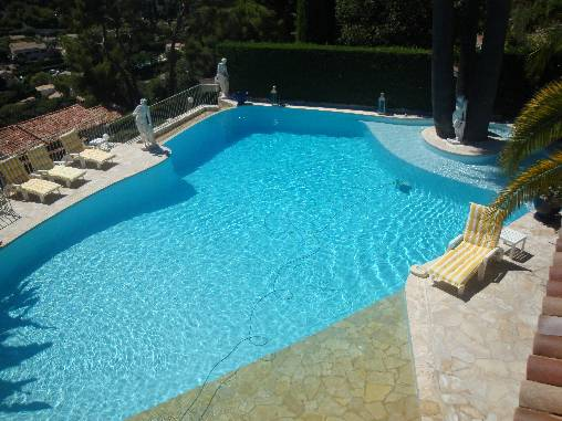 Chambre d'hote Alpes Maritimes - La Bergerie piscine