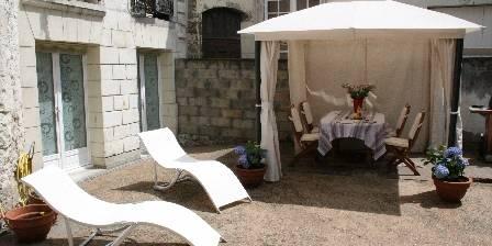 Le Gîte Du Vieux Tours Private courtyard
