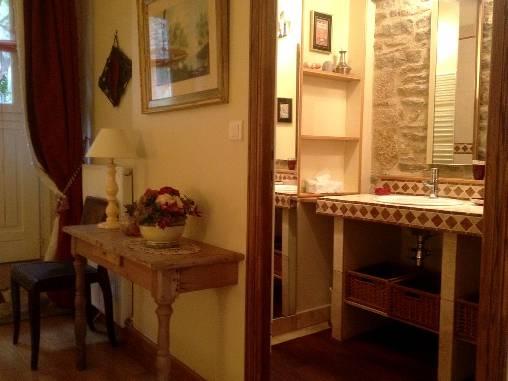 salle d'eau suite les Fleurières