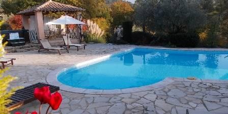 L'escleriade Autour de la piscine