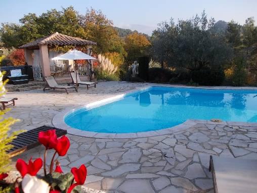 Chambre d'hote Vaucluse - Autour de la piscine