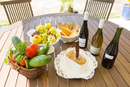 Chambre d'hote Sarthe - produits du terroir