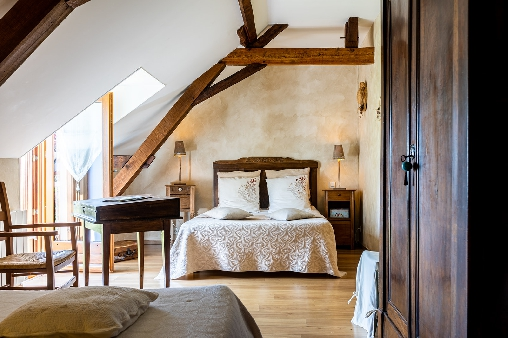 bed & breakfast Maine-et-Loire - familly room Grand Mother